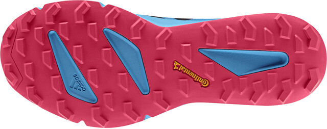 adidas TERREX Agravic Speed+ Scarpe Donna, shock cyancore